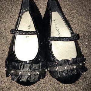 Girls Patent Leather Mary Jane Shoe